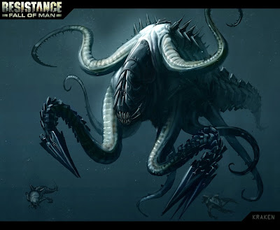 Kraken Pirates Of The Caribbean Concept Art