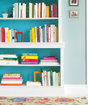 Simply Stoked: Styling a Bookcase