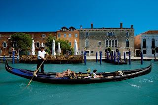 Venice, Italy: The Gondola Massage: Hotel Cipriani