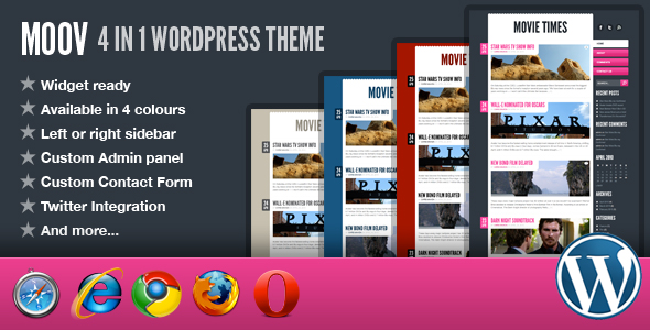 Moov Theme by ThemeForest Preview
