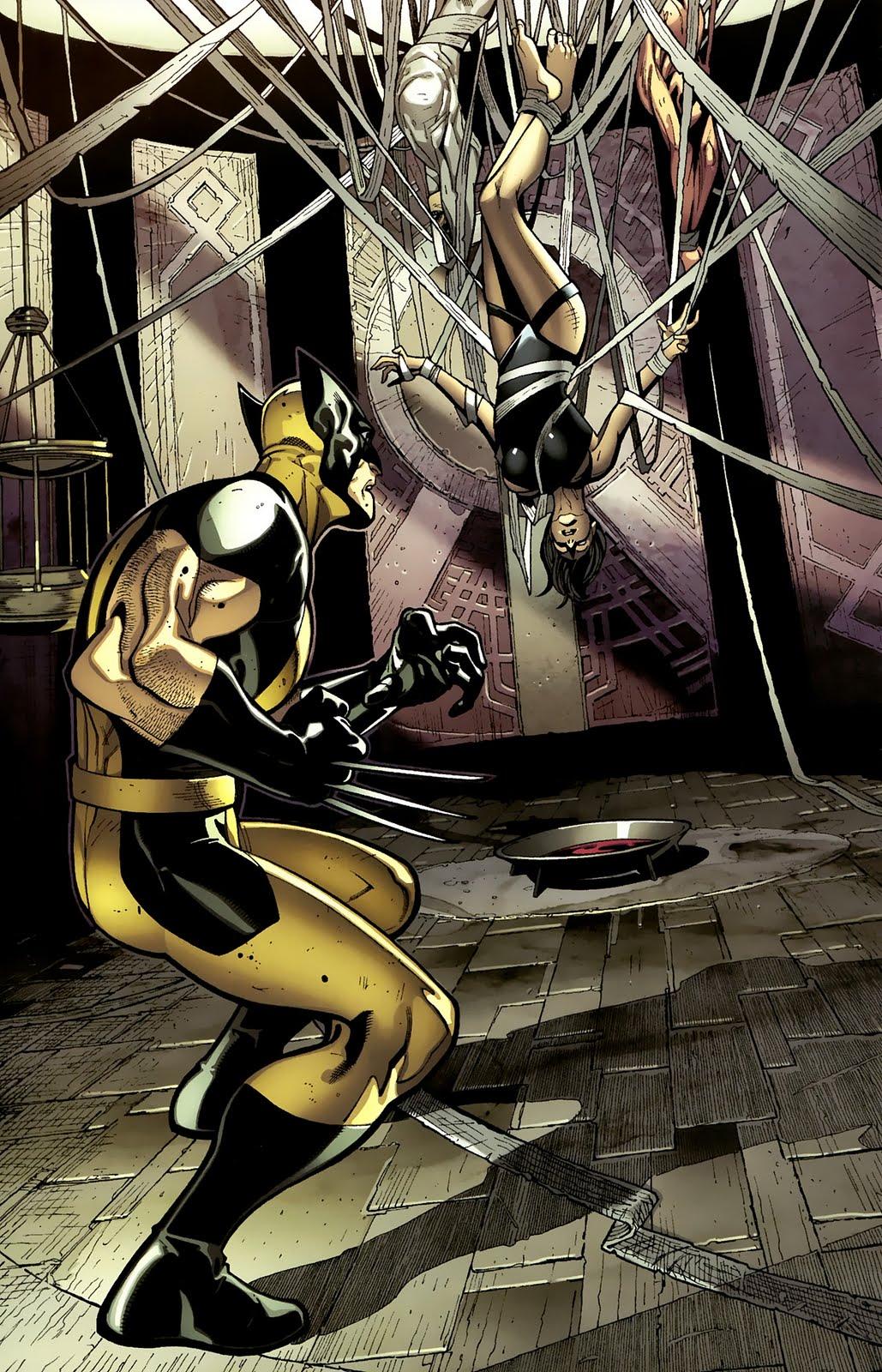 X-men bondage