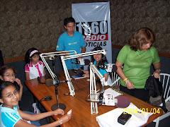 ¡Nuestros alumnos en la radio!