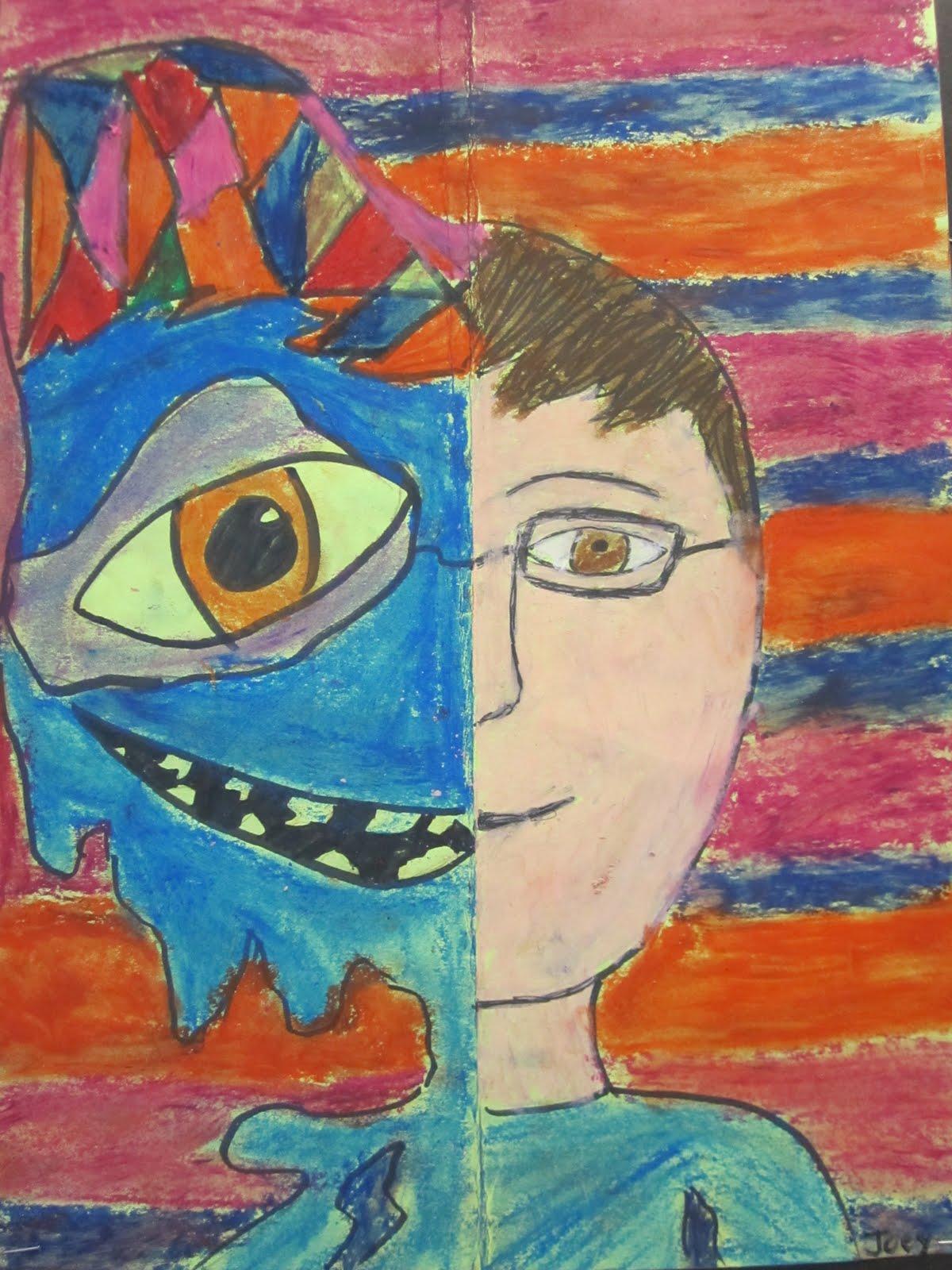 Think Create Art Picasso Faces Art Smart Beck Center Camp