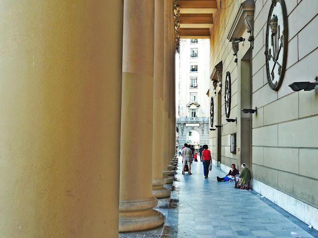 Columnas de la Catedral Metropolitana.