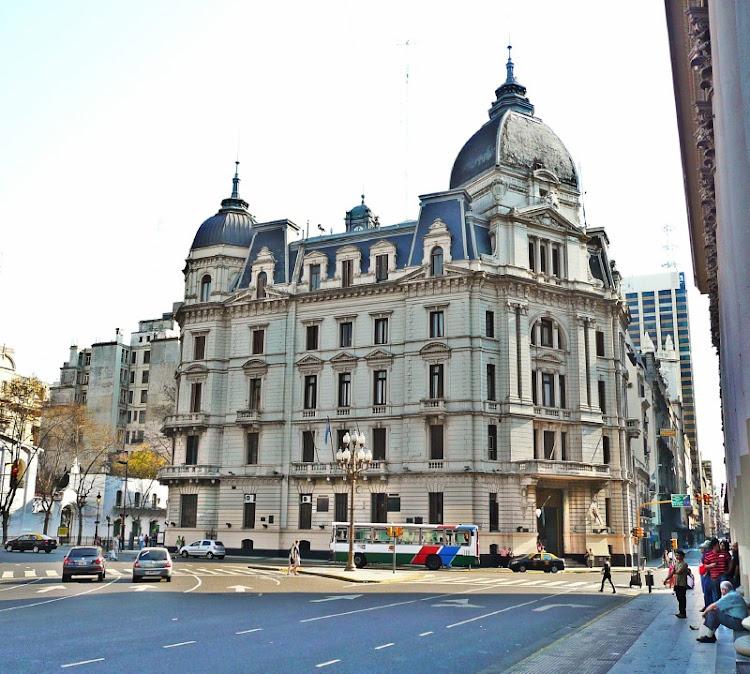 Edificio de la Casa de Gobierno de la Ciudad