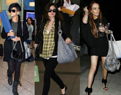 Chic Trends Gray Handbags O So Chic Blog