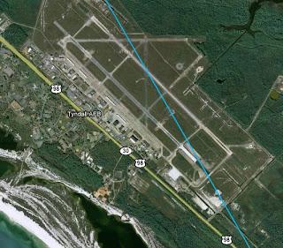 Resultado de imagen de Base Aérea de Tyndall en la Florida,