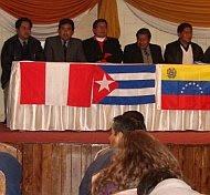 ALBA es el comercio entre el Imperio Chavista y sus colonias (las cuakes reciben petroleo a cambio de someterse a sus condiciones)