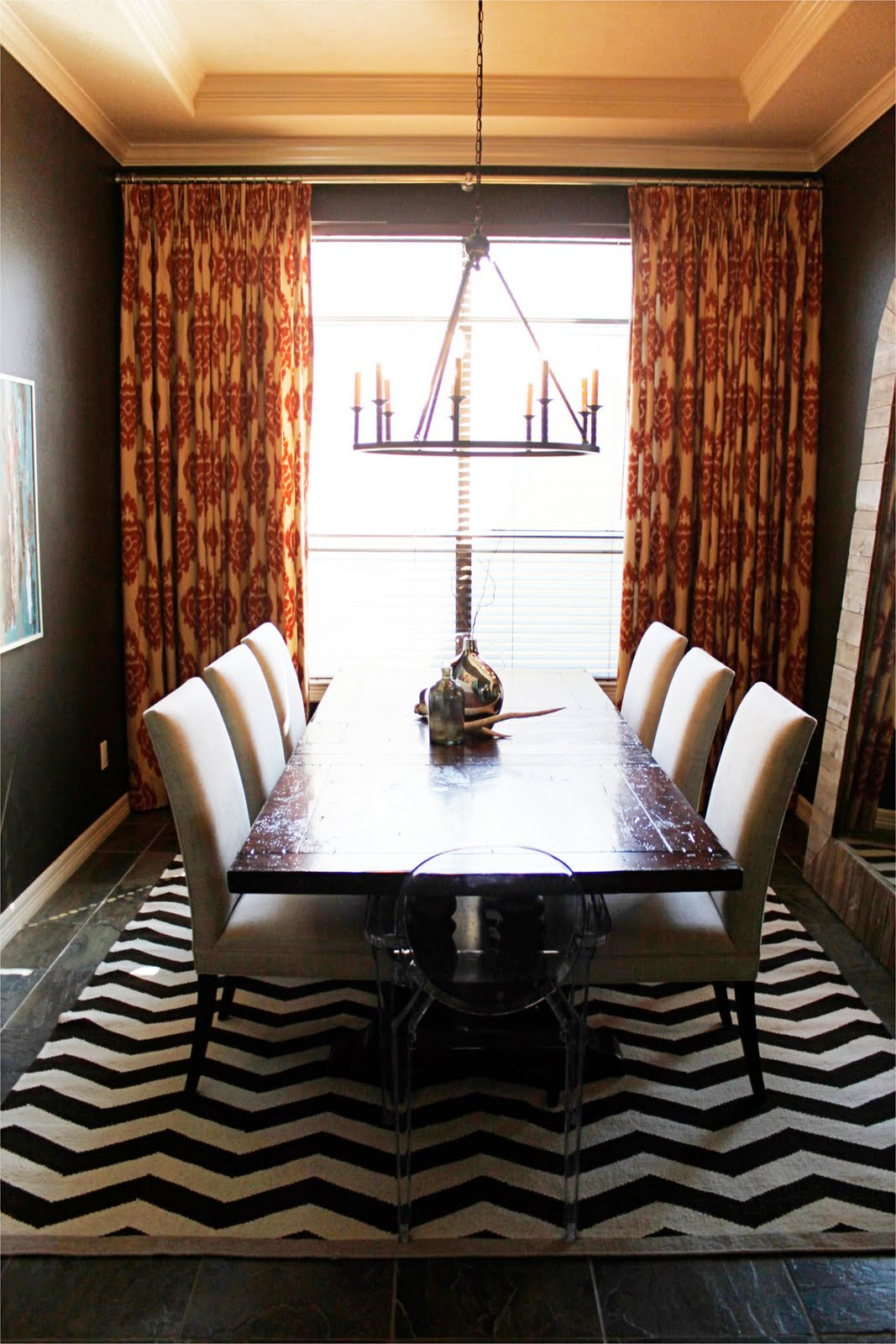 Modern Touches In A Dining Room Reveal Before And After