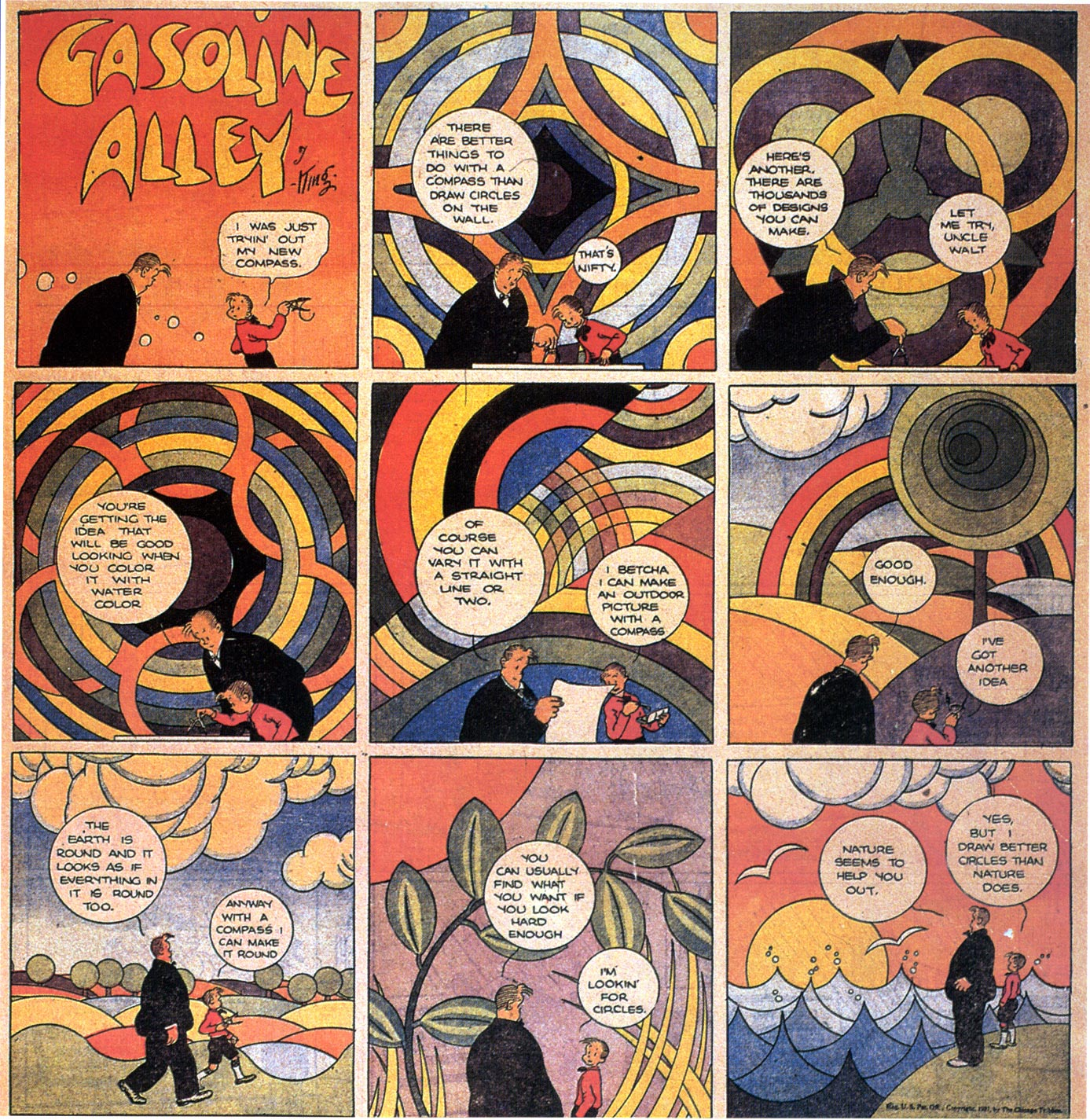 Comics Techniques and Tricks: Frank King