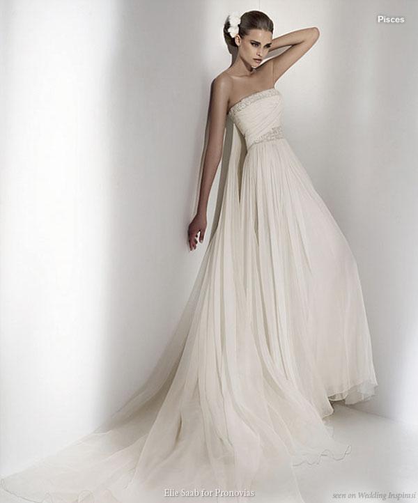 Goddess Wedding Dresses: Beautiful Grecian Wedding Dress