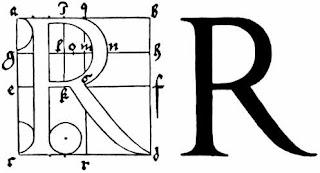 ** Diseño Gráfico **: Letra romana