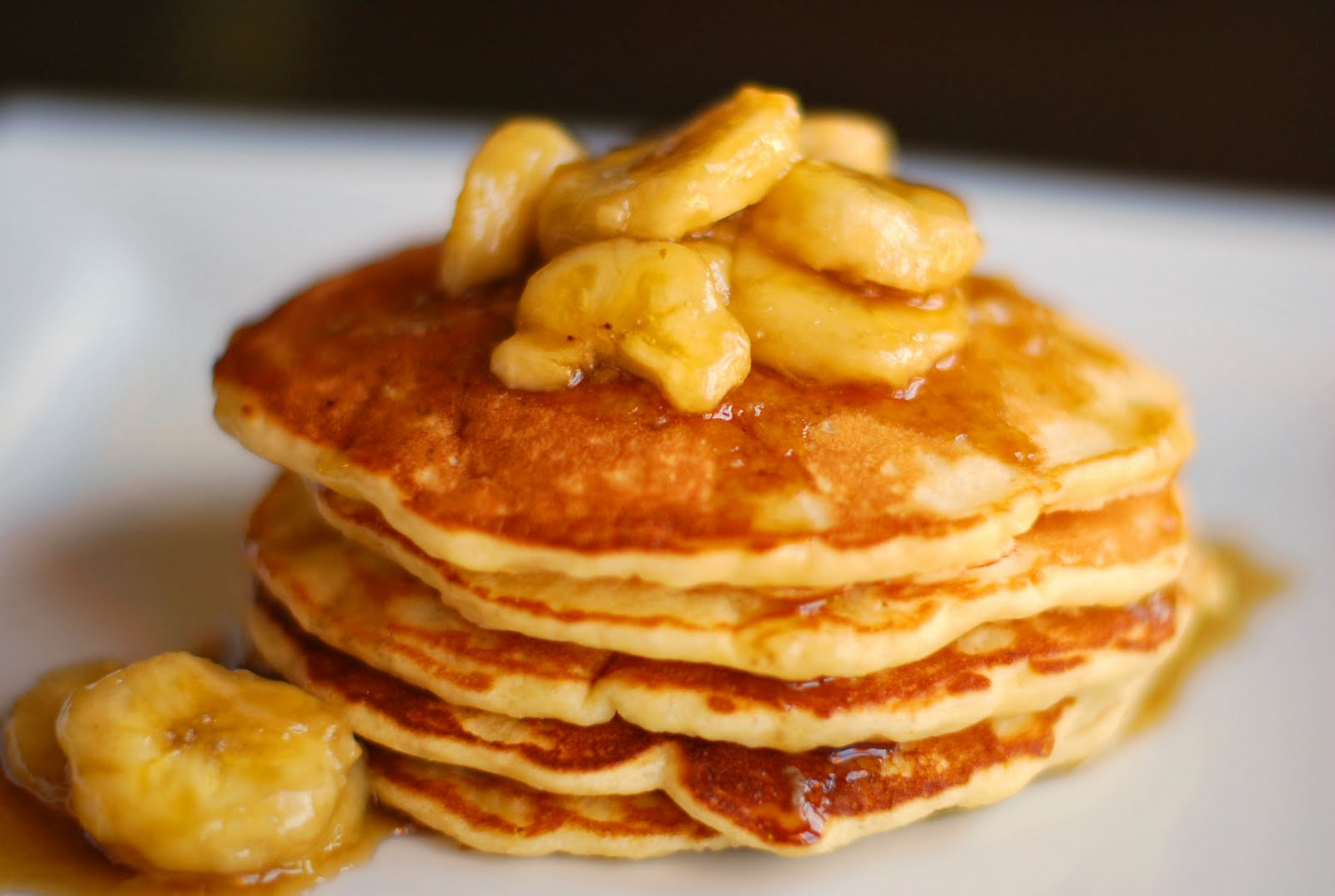 Banana Pancakes With Only Two Ingredients