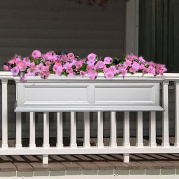 a wife 39 s charmed life pretty window box planters for the home. Black Bedroom Furniture Sets. Home Design Ideas
