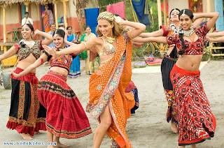 Jessica Alba In Saree (indian Traditional Dress)
