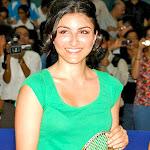 Deepika Padukone And Soha Ali Khan At The First Tata Badminton Open Tournament
