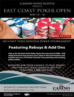 poker tournaments casino nova scotia