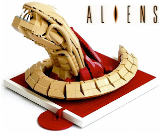 c76a354b11d Muito maneiro este Alien feito com LEGO! Infelizmente não consegui achar o  autor