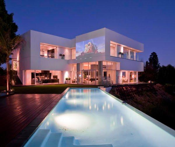 House Beautifull: Selebrity Homes: 9.Luxury & Beautifull House's
