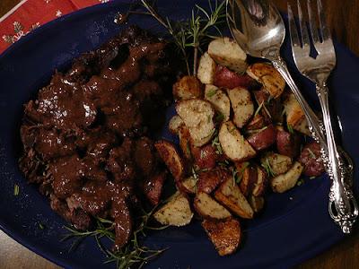 lick roast beef
