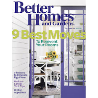 Better Homes & Gardens September 2009 Issue