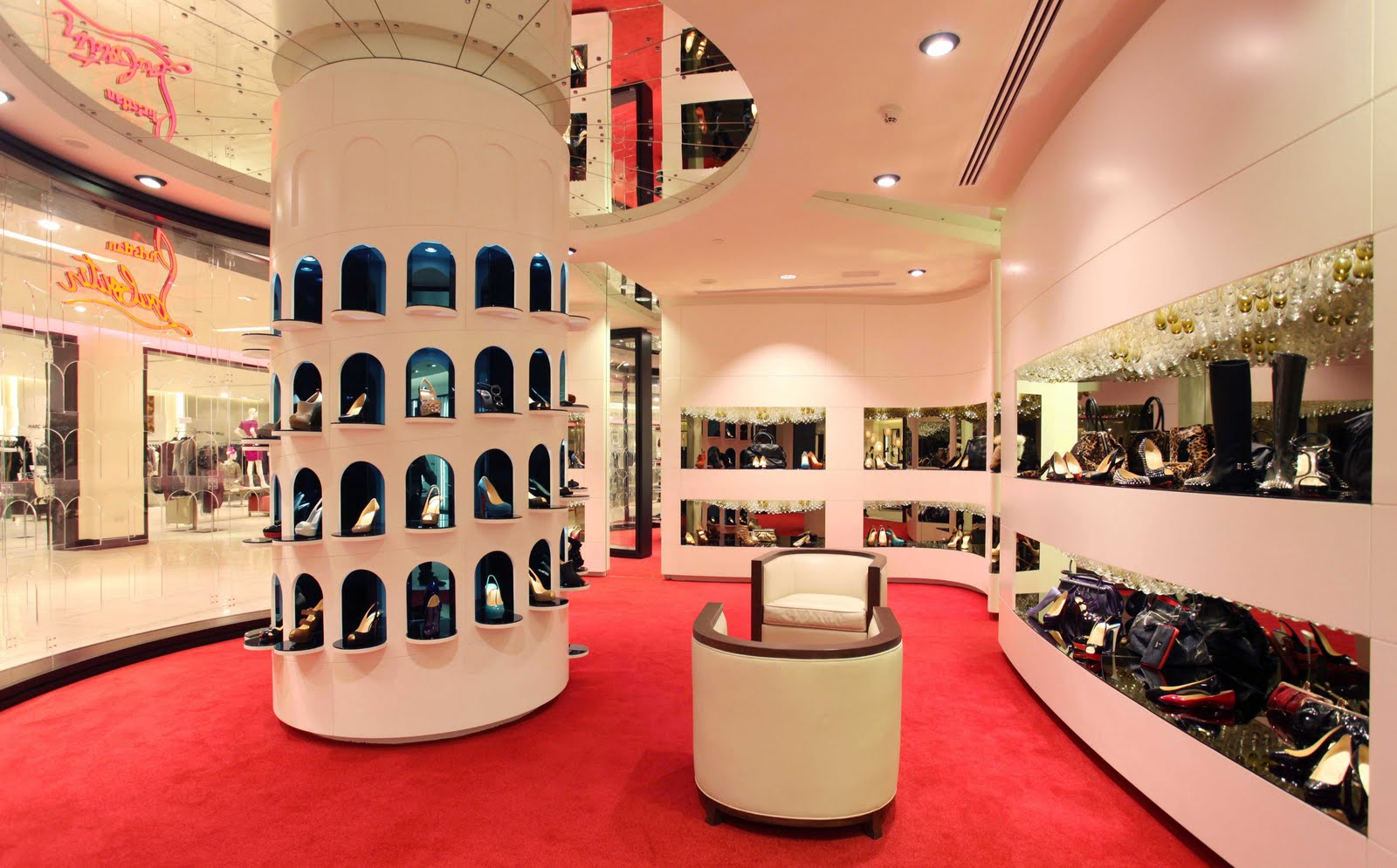 68f1b195c28 Christian Louboutin concession in Saks Fifth Avenue Burjuman