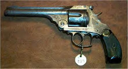 Western Sheriff, G. Cooper Wright's .44 cal. revolver
