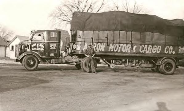 d3d69eca3d Akron Motor Cargo Co. Truck. 1930s