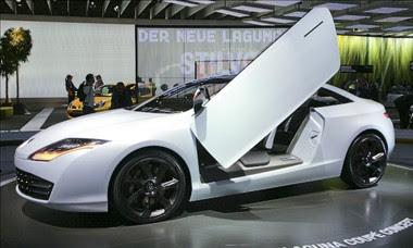 renault laguna coupe concept at frankfurt motor show 2007 car tuning styling. Black Bedroom Furniture Sets. Home Design Ideas