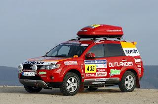 mitsubishi outlander supports dakar 2008 ~ car tuning styling