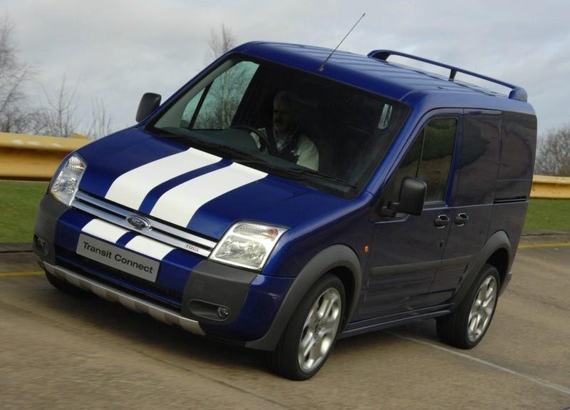 ford transit connect sportvan revealed at cv show uk. Black Bedroom Furniture Sets. Home Design Ideas