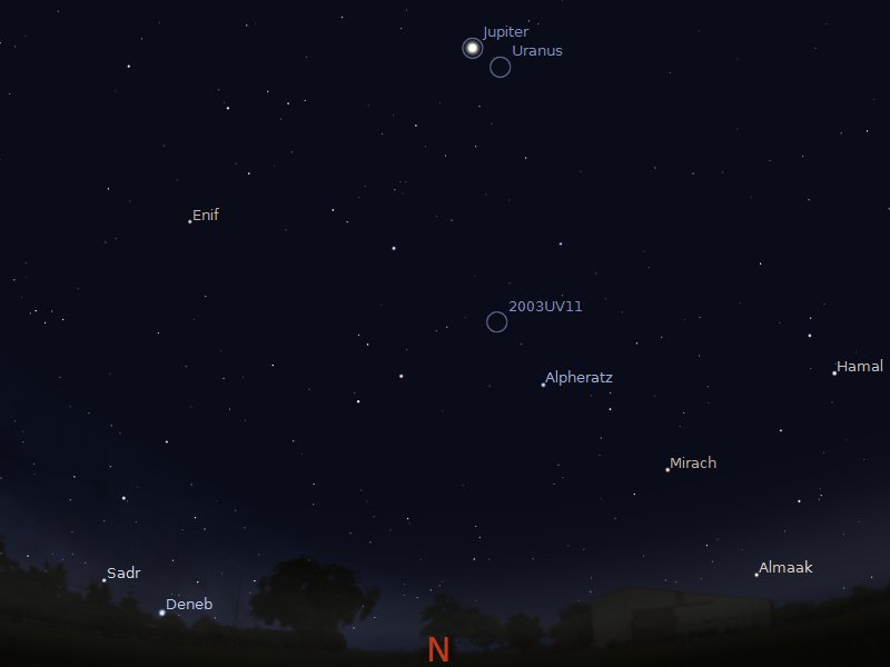 asteroid viewing path tonight - photo #12