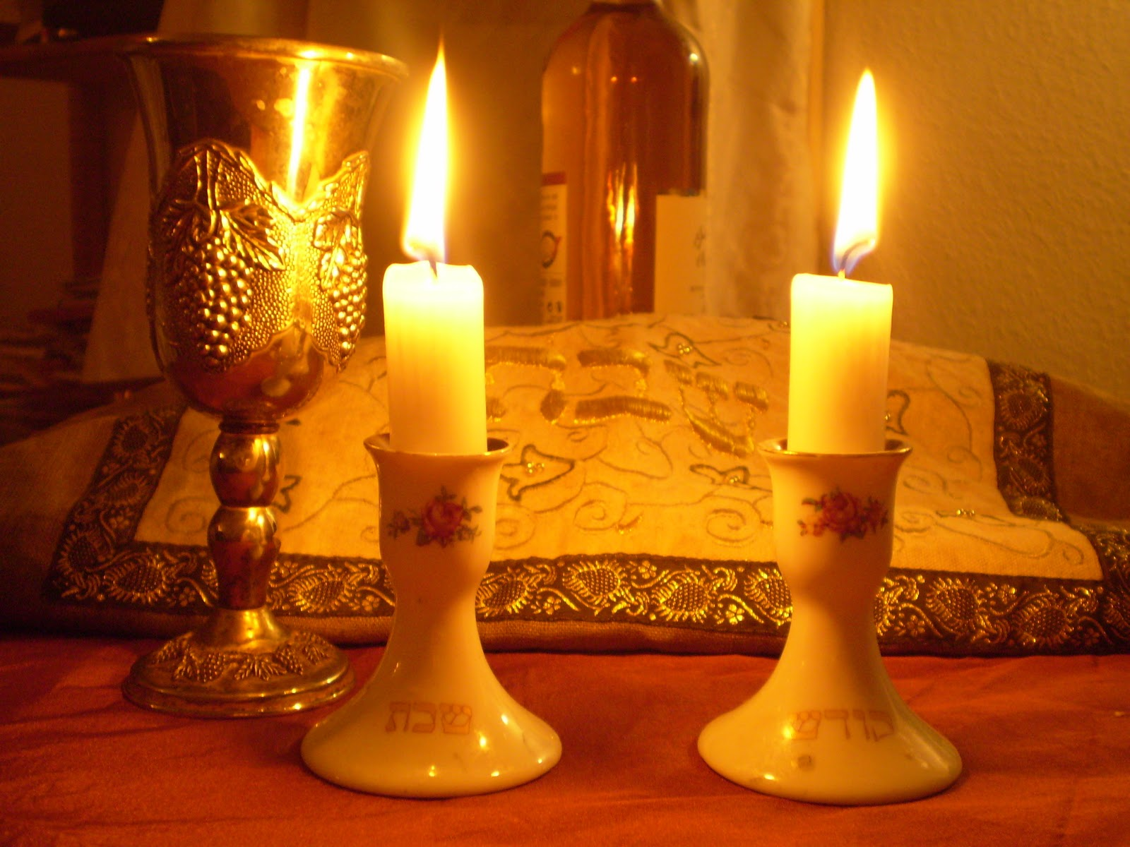 My Father's Daughter: Lighting The Shabbat Candles