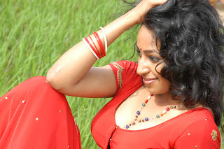 South Indian Sexy Actress Theertha From Telugu Film Sontha Vooru…