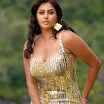 Hottest Pics Of Spicy South Indian Babe Namitha In Gold Colored Dress  From The Latest Telugu Movie Billa   Exclusive Hq Photos Gallery...