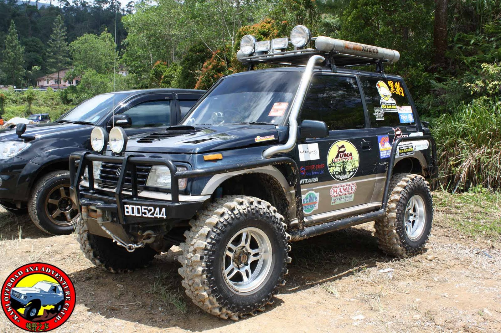 kaki offroad 4x4 adventure club suzuki vitara modification. Black Bedroom Furniture Sets. Home Design Ideas