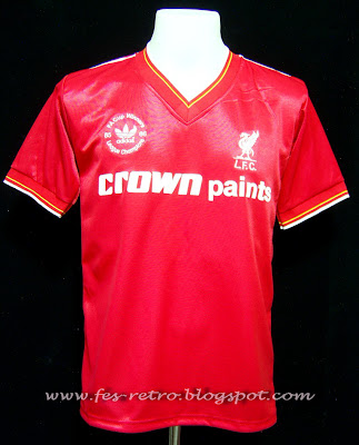newest collection ece6c 4c85c fesretrobrunei #thesportshop: LFC, Home kit 1985-86 'Special ...