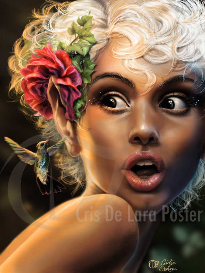 2b42fba95 Chris de Lara caught my eye because she is a pin-up artist but has  modernised the art by using digital painting. I can see her inspiration  from artists such ...