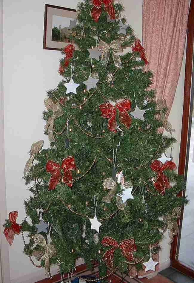 Las fiestas llegaron ya decora tu arbol de navidad con lazos - Como adornar mi arbol de navidad ...