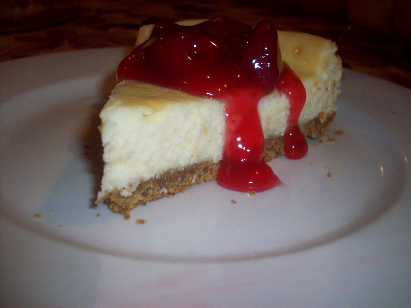 Sweet As A Kiss Homemade Cheesecake With Recipe
