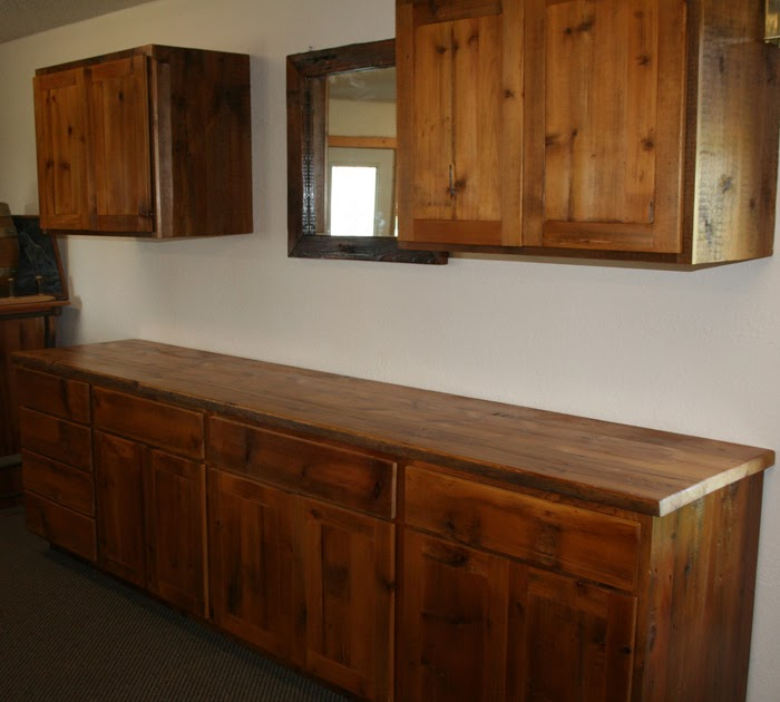 Minnesota Kitchen Cabinets: Barnwood Furniture