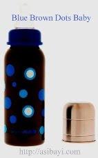 blue brown dots