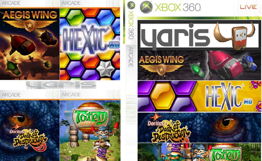 Planeta Xbox360 Cd Juegos Arcade Full