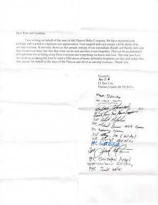 denisblogs personal thank you letter sample - personal thank you letter