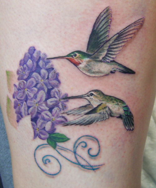 Hummingbird Memorial Tattoo Ideas
