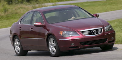 Recall: 2005 - 2008 Acura RL