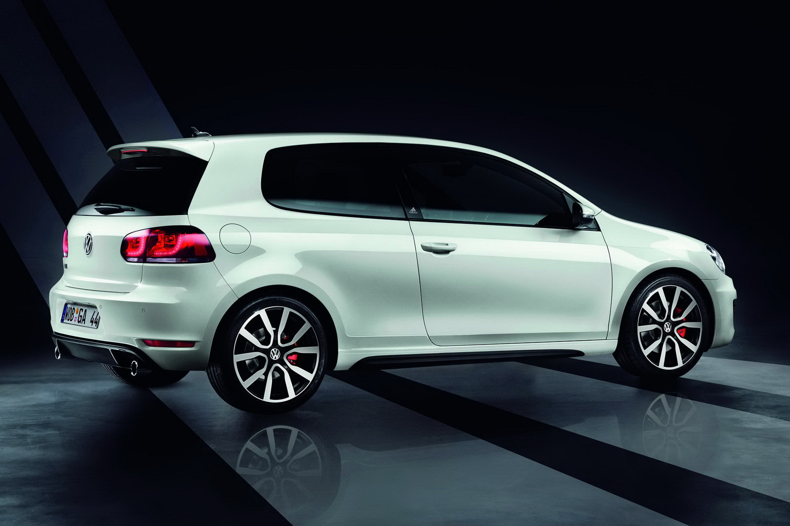 The Car Vw Golf Gti Adidas Special Unveiled Goes On Sale