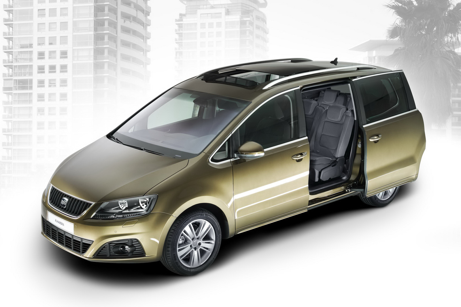 New Seat Alhambra Mpv Vw Sharan S Twin Brother Officially