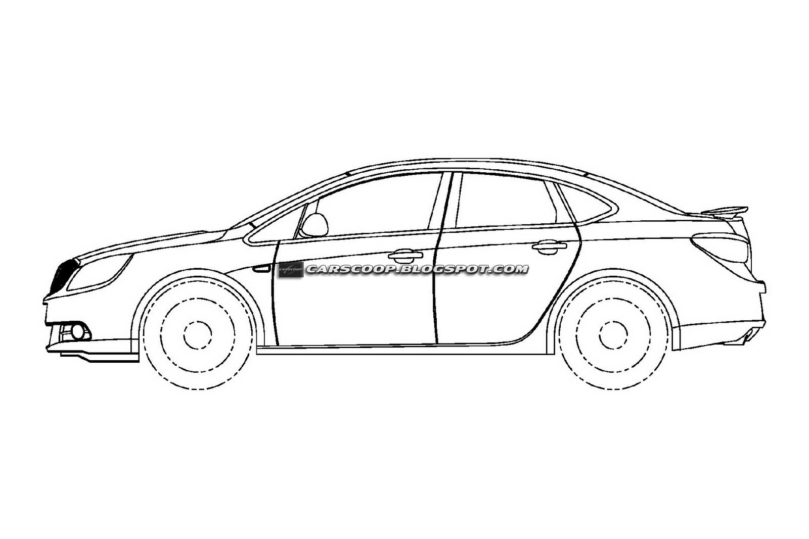 THE CAR: U.S. Patent Drawings of 2012 Buick Excelle Sedan