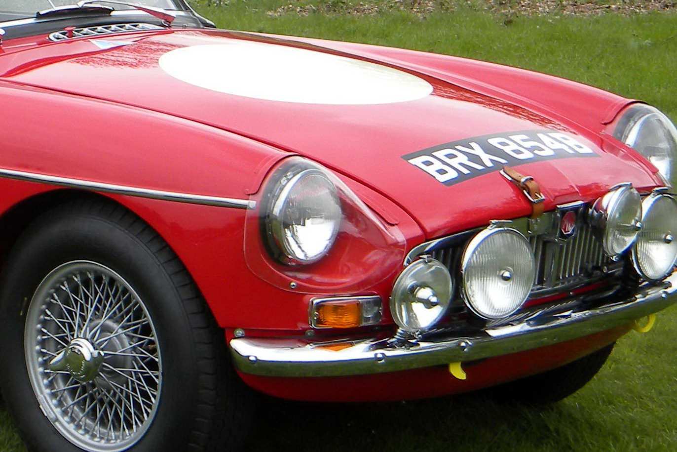 LastKnown MGB Works Rally Car Going Under Auction  Carscoops